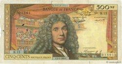 500 Nouveaux Francs MOLIÈRE FRANCE  1964 F.60.06 pr.TB