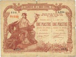 1 Piastre - 1 Piastre INDOCHINE FRANÇAISE Saïgon 1909 P.034b B+
