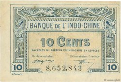 10 Cents INDOCHINE FRANÇAISE  1919 P.043 SUP