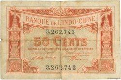 50 Cents INDOCHINE FRANÇAISE  1919 P.046 B