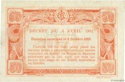 50 Cents INDOCHINE FRANÇAISE  1919 P.046 TTB