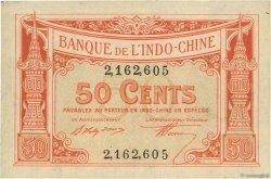 50 Cents INDOCHINE FRANÇAISE  1919 P.046 pr.SPL