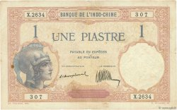 1 Piastre INDOCHINE FRANÇAISE  1921 P.048a pr.TTB