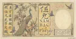 5 Piastres INDOCHINE FRANÇAISE  1927 P.049b TTB+