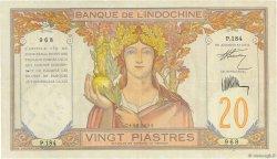 20 Piastres INDOCHINE FRANÇAISE  1928 P.050 TTB+