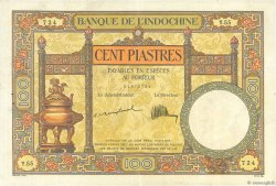 100 Piastres INDOCHINE FRANÇAISE  1925 P.051a TTB+