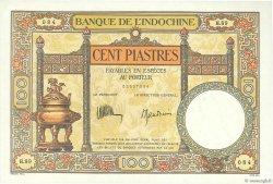 100 Piastres INDOCHINE FRANÇAISE  1932 P.051c SUP+