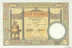 100 Piastres INDOCHINE FRANÇAISE  1936 P.051d pr.NEUF