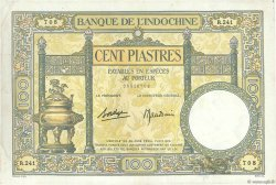 100 Piastres INDOCHINE FRANÇAISE  1936 P.051d pr.TTB