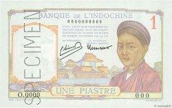 1 Piastre INDOCHINE FRANÇAISE  1946 P.054cs pr.NEUF