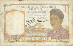 1 Piastre INDOCHINE FRANÇAISE  1949 P.054d