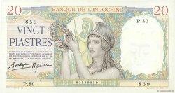 20 Piastres INDOCHINE FRANÇAISE  1936 P.056b SUP