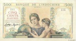 500 Piastres INDOCHINE FRANÇAISE  1939 P.057 SUP