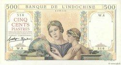 500 Piastres INDOCHINE FRANÇAISE  1939 P.057 SPL+