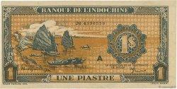 1 Piastre INDOCHINE FRANÇAISE  1942 P.058b pr.NEUF