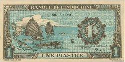 1 Piastre INDOCHINE FRANÇAISE  1942 P.059a pr.NEUF