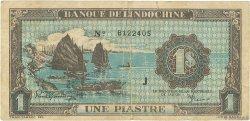 1 Piastre INDOCHINE FRANÇAISE  1942 P.059b B+