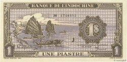 1 Piastre INDOCHINE FRANÇAISE  1942 P.060 pr.NEUF