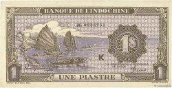 1 Piastre INDOCHINE FRANÇAISE  1942 P.060 SPL
