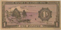 1 Piastre violet INDOCHINE FRANÇAISE  1942 P.060 TTB