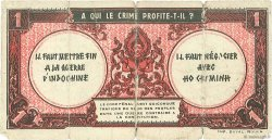 1 Piastre INDOCHINE FRANÇAISE  1942 P.060x AB