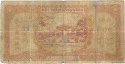 100 Piastres orange INDOCHINE FRANÇAISE  1942 P.066 B