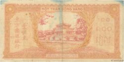 100 Piastres orange INDOCHINE FRANÇAISE  1942 P.066 pr.TTB