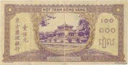 100 Piastres INDOCHINE FRANÇAISE  1942 P.067 pr.TTB