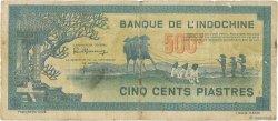500 Piastres INDOCHINE FRANÇAISE  1944 P.068 pr.TB