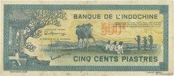 500 Piastres INDOCHINE FRANÇAISE  1944 P.068 TTB