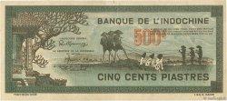 500 Piastres INDOCHINE FRANÇAISE  1945 P.069 TTB+