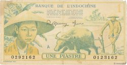 1 Piastre INDOCHINE FRANÇAISE  1942 P.074 TB