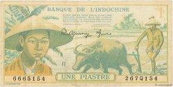 1 Piastre INDOCHINE FRANÇAISE  1942 P.074 TTB