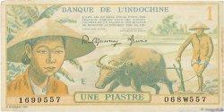 1 Piastre INDOCHINE FRANÇAISE  1942 P.074 TTB+