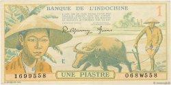 1 Piastre INDOCHINE FRANÇAISE  1942 P.074 SUP