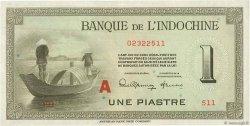 1 Piastre INDOCHINE FRANÇAISE  1945 P.076b SUP+