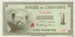 1 Piastre INDOCHINE FRANÇAISE  1945 P.076b NEUF