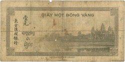 1 Piastre INDOCHINE FRANÇAISE  1945 P.076b B