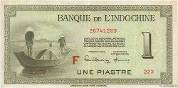 1 Piastre INDOCHINE FRANÇAISE  1945 P.076c TTB+