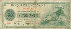 50 Piastres INDOCHINE FRANÇAISE  1945 P.077a TB