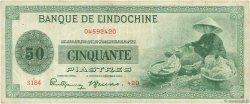 50 Piastres INDOCHINE FRANÇAISE  1945 P.077a pr.TTB