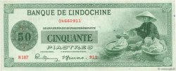 50 Piastres INDOCHINE FRANÇAISE  1945 P.077a pr.SUP