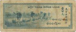 100 Piastres INDOCHINE FRANÇAISE  1945 P.078a B