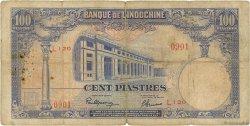 100 Piastres INDOCHINE FRANÇAISE  1946 P.079a B