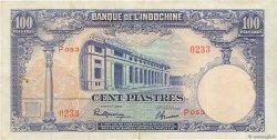 100 Piastres INDOCHINE FRANÇAISE  1946 P.079a pr.TTB