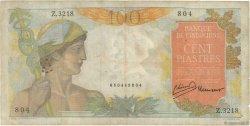 100 Piastres INDOCHINE FRANÇAISE  1947 P.082b TB