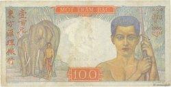 100 Piastres INDOCHINE FRANÇAISE  1947 P.082b TTB