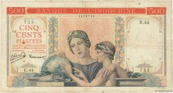 500 Piastres INDOCHINE FRANÇAISE  1951 P.083a pr.TB