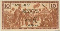 10 Cents INDOCHINE FRANÇAISE  1939 P.085b pr.NEUF