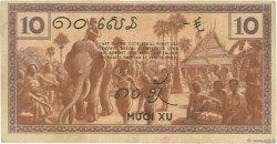 10 Cents INDOCHINE FRANÇAISE  1939 P.085c TTB